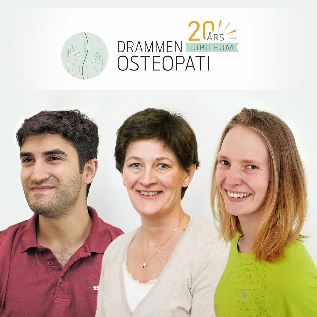 Drammen Osteopati people post logo